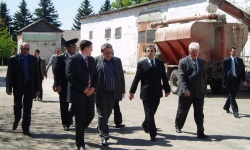 Visit of Vasile Tarlev, Prime Minister of the Republic of Moldova